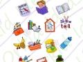 My school kit - my school day w