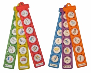 visual schedule tags