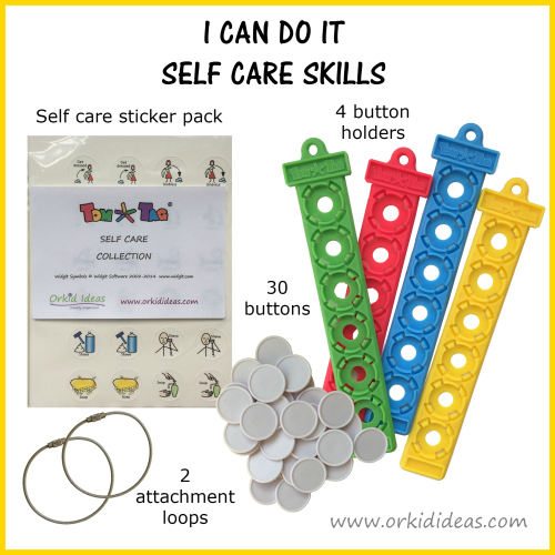 i can do it self care skills set contents
