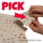 Pick a sticker