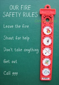 Our fire safety rules