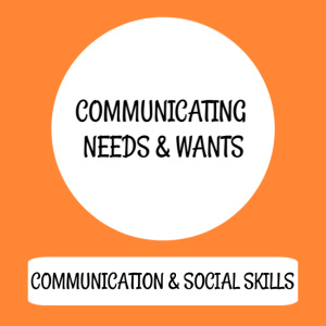 Communicating needs & wants