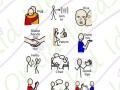 Manners symbols for christmas & birthdays