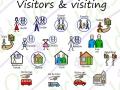 Visitors symbols for christmas & birthdays
