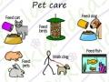 clean & tidy sticker pack symbols, pet care