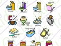 food & drink breakfast items