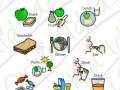 in the house symbols, meals