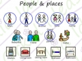 in the house symbols, people