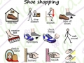 symbols included in the sticker pack shoe shopping