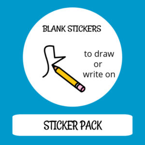 cover image sticker pack blank stickers