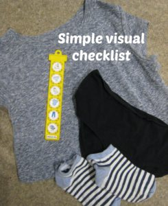 dressing checklist 1