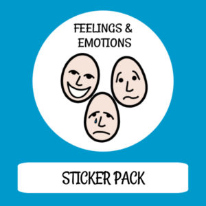 cover image sticker pack feelings & emotions