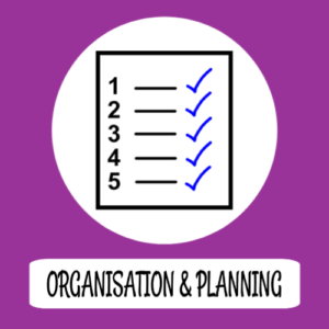 Organisation and planning