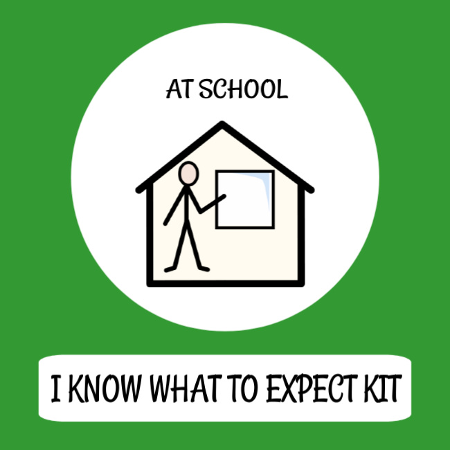 cover image what to expect at school kit