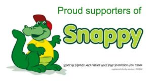proud supporters of snappy logo